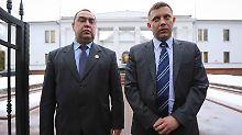 Die Herrscher der Ostukraine: Von diesen Männern hängt die Waffenruhe ab