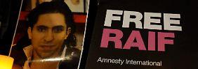 Prügelstrafe erneut ausgesetzt: Badawis Blogger-Kollegin kommt frei