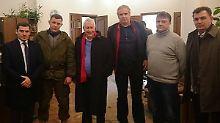 Linke treffen Sachartschenko: Kein Geleit für die Separatisten!