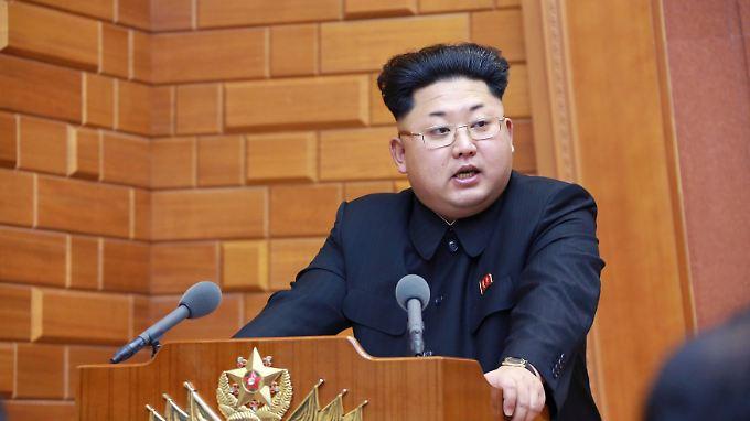 """Es soll eine """"historische Rede"""" von Diktator Kim Jong Un gewesen sein, berichtet die staatliche Nachrichtenagentur KCNA."""