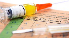 Masernwelle in Berlin: Tod eines Kleinkindes heizt Debatte um Impfpflicht an