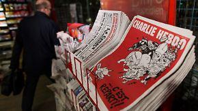 """""""Es geht wieder los"""": Neues """"Charlie Hebdo""""-Heft erscheint in Millionenauflage"""