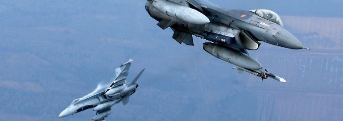 Portugiesische und kanadische Flieger auf Nato-Mission im litauischen Luftraum