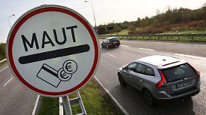 Bedenken auch bei der SPD: Pkw-Maut sorgt für Zähneknirschen im Bundestag
