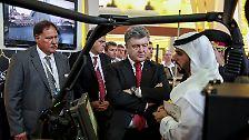 Rüstungsmesse in Abu Dhabi: Waffenschau im Schatten des Krieges