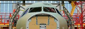 Linienflieger heiß begehrt: Airbus legt Rekordjahr hin