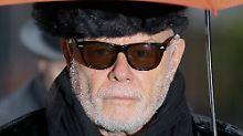 Ex-Popstar zeigt kaum Reue: Gary Glitter muss 16 Jahre in Haft