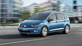 Neuer Touran vorgestellt: VW setzt zum Sprung an die Weltspitze an