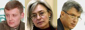 Nemzow, Politkowskaja & Co.: In Putins Russland lebt es sich gefährlich