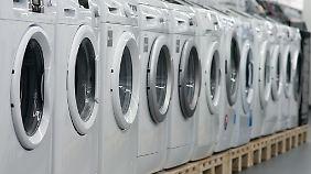 Waschmaschinen schaffen heute weniger Lebensjahre als früher.