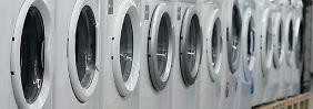 Waschmaschinen und Notebooks: Deutsche tauschen Geräte schneller aus