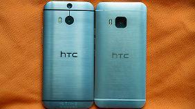 Der Rücken ist das Wiedererkennungsmerkmal der Marke mit dem typischen HTC-Design.