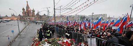 """""""Er starb für Russland"""": Zehntausende trauern um Nemzow"""