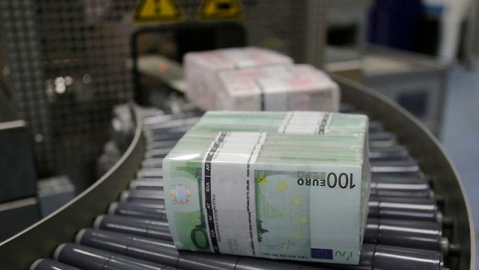 Die EZB strebt eine Inflationsrate von knapp unter zwei Prozent an.