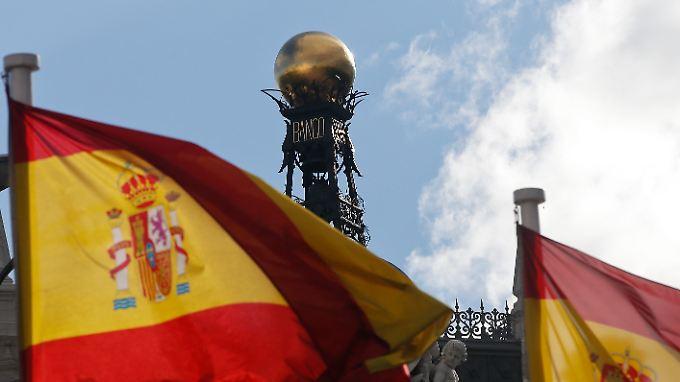 Der gesamte Finanzsektor profitiert in Spanien vom Ende der wirtschaftlichen Talfahrt.