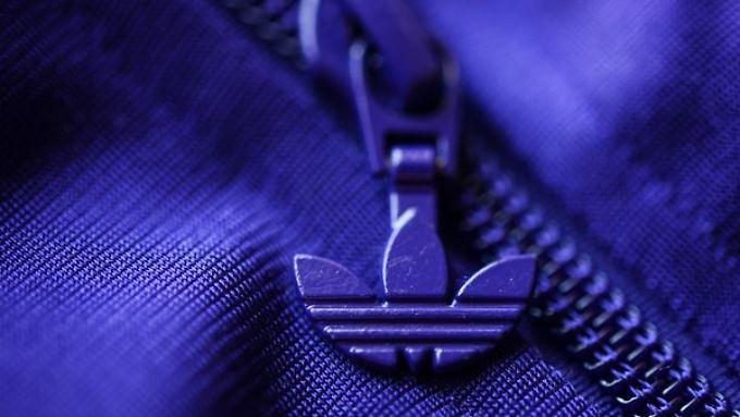 Gedeckte Farben: Adidas kann im vergangenen Jahr nicht strahlen.