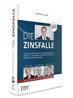 """""""Die Zinsfalle"""" ist im FBV erschienen und gehört zur n-tv Buchtipp-Reihe. 256 Seiten, 19,99 Euro"""