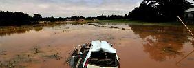 Das am stärksten von Hochwasser betroffene Land ist mit Abstand Indien. Deutschland liegt in der Liste auf Position 33. Foto: Stringer