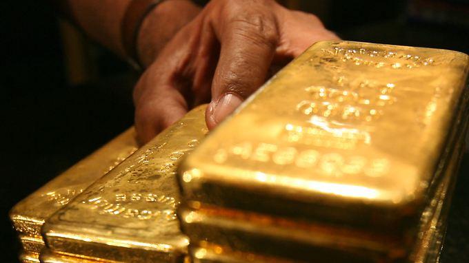 90 Barren Gold: Für wen war der Schatz bestimmt? (Archivbild)