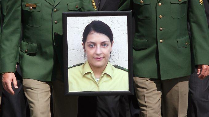 Michéle Kiesewetter wurde 2007 mit einem gezielten Kopfschuss getötet.