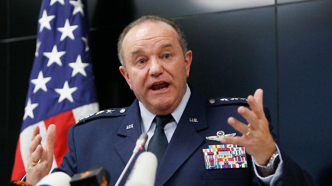 Philip Breedlove ist der Oberbefehlshaber der Nato und gleichzeitig Kommandeur des US European Command.