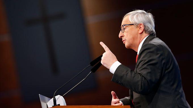 Jean-Claude Juncker will das Ansehen Europas in der Welt stärken.