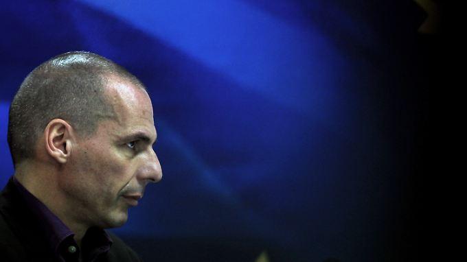 Auf Konfrontationskurs: Griechenlands Finanzminister Yanis Varoufakis.