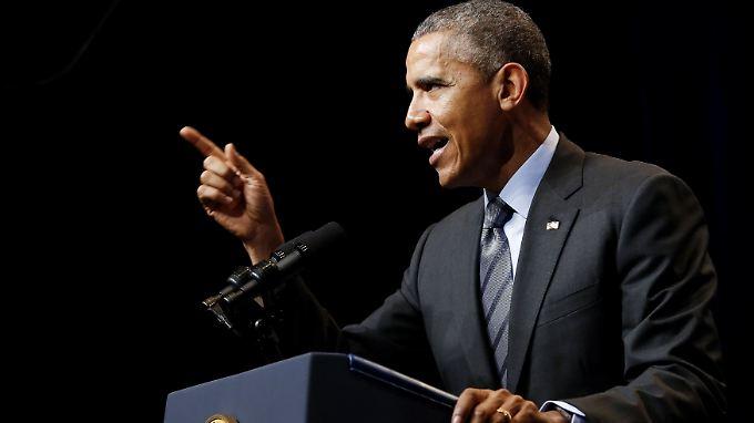 Obama hat das Land zu einer Bedrohung für die nationale Sicherheit erklärt.