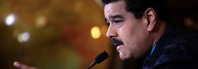 """Maduro poltert: """"USA arbeiten an Sturz der Regierung"""""""