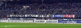 Farbbomben auf Rangnicks Porsche: KSC-Fans stürmen Teamhotel von RB Leipzig