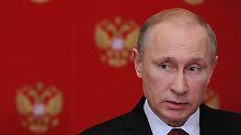 Seit einer Woche nicht gesehen: Geht es Putin nicht gut?