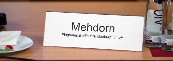 Hartmut Mehdorn ist beim BER nun Geschichte.