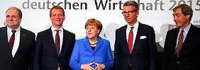 """""""Kollisionskurs gegen Wirtschaft"""": Merkel lässt Kritik an sich abprallen"""