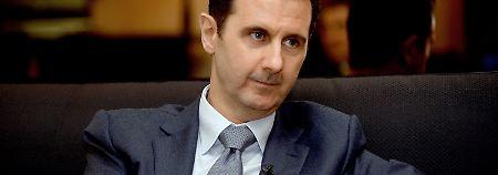 """Noch keine """"direkte Kommunikation"""": Assad bietet USA Dialog über Syrien an"""