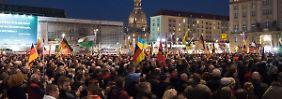 Wilders in Dresden?: Pegida mobilisiert wieder mehr Menschen