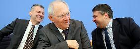 Griechenland ist weit weg: Schäuble schenkt und scherzt