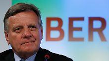 Steuerzahler nicht der Dumme: Mehdorn: BER wird sich rentieren