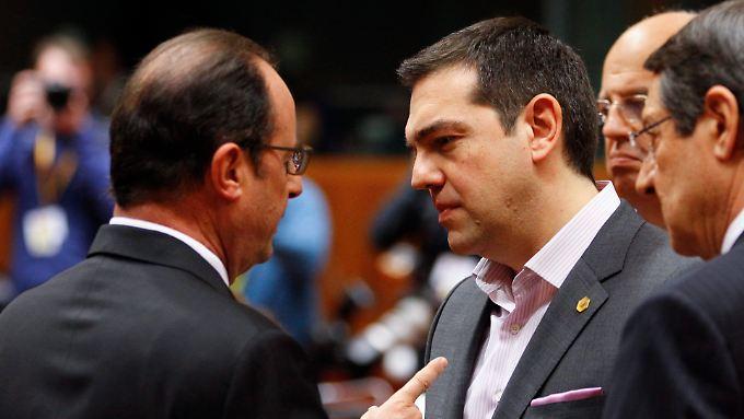 Griechenlands Premier Alexis Tsipras bleiben nur noch wenige Optionen, um den Euro-Austritt zu verhindern.