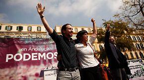 """""""Es ist Zeit für einen Wechsel"""": Podemos kämpft in Andalusien für Veränderung"""