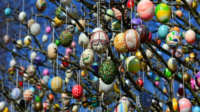 Jedes der 10.000 Eier ist ein Unikat.