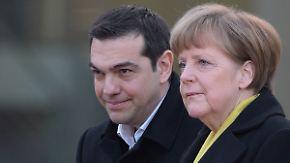 """""""Weder die Zeit noch das Format"""": Bundesregierung dämpft Hoffnungen vor Tsipras-Besuch"""