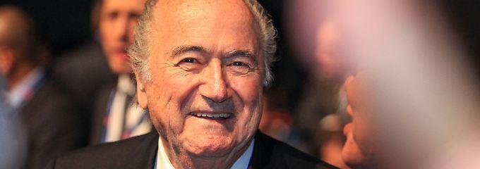 Quot Der Ausputzer Quot Ist Bekehrt Joseph Blatter Der