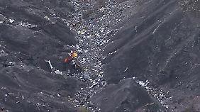 """""""Da waren so viele Trümmer"""": Bergsteiger berichtet vom Absturzort"""