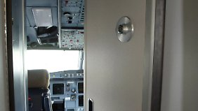 Sicherheitssystem blockiert: Copilot verriegelte Cockpit-Tür absichtlich