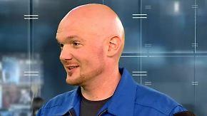 """Alexander Gerst im n-tv Interview: """"Mich fasziniert die Begeisterung der Leute"""""""