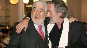 """Mario Adorf, in Kir Royal, zu """"Baby Schimmerlos"""": """"Ich scheiß dich zu mit meinem Geld."""""""