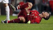 Drama, Emotionen, Kurioses: Vettel außer Rand und Band, Ronaldo leidet