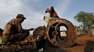 Profit und Stahlhunger: Europäer wollen Schiffe sauberer recyceln