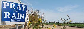 Schwere Dürre seit vier Jahren: Wasser sparen in Kalifornien wird Gesetz