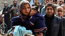 Fliehende Flüchtlinge: 2000 Palästinenser brechen aus Jarmuk aus